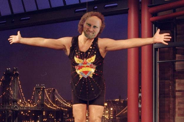 Aaron as Richard Simmons